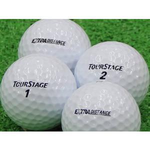 ロストボール Aランク ロゴなし ツアーステージ EXTRA DISTANCE ホワイト 2014年モデル 20個セット