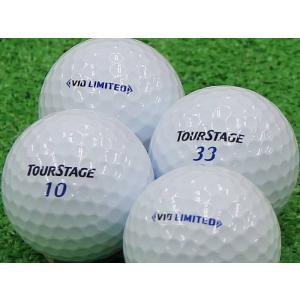 ロストボール Aランク ロゴなし ツアーステージ V10 LIMITED ホワイト 2014年モデル 20個セット