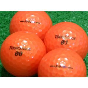 ロストボール ABランク ロゴなし ツアーステージ X-01 B+ スーパーオレンジ 20個セット