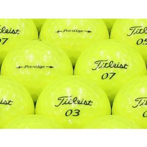 ロストボール ABランク ロゴなし タイトリスト Prestige(プレステージ) プレミアムイエロー 2014年モデル 20個セット