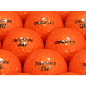 ロストボール ABランク ロゴなし ツアーステージ V10 スーパーオレンジ 2010年モデル 20個セット