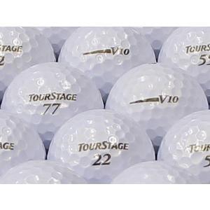 ロストボール ABランク ロゴあり ツアーステージ V10 パールホワイト 2012年モデル 20個セット
