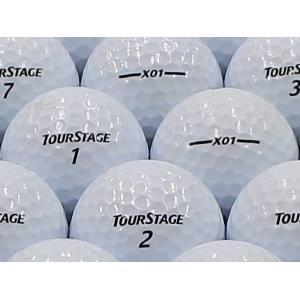 ロストボール ABランク ロゴあり ツアーステージ X01 ホワイト 2012年モデル 20個セット
