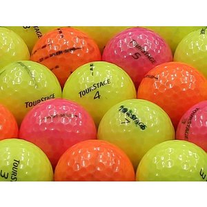 ロストボール 落書きABランク ツアーステージ X01-MILD カラーボール混合 20個セット