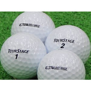 ロストボール Aランク ロゴなし ツアーステージ EXTRA DISTANCE ホワイト 2014年モデル 1個