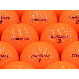 ロストボール ABランク ロゴなし ツアーステージ EXTRA DISTANCE オレンジ 2014年モデル 1個