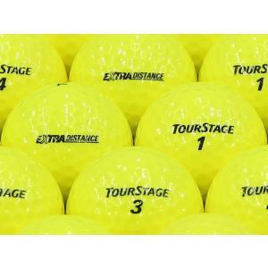 ロストボール ABランク ロゴなし ツアーステージ EXTRA DISTANCE イエロー 2014年モデル 1個