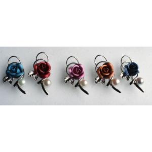 パールタックブローチ 青い薔薇 レディスアクセサリー 伊勢志摩産 アコヤ真珠|tamatyan|04
