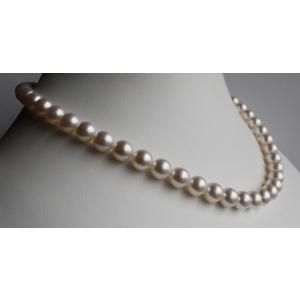 パールネックレス イヤリングセット 8-8.5mm  花珠 アコヤ真珠|tamatyan|02