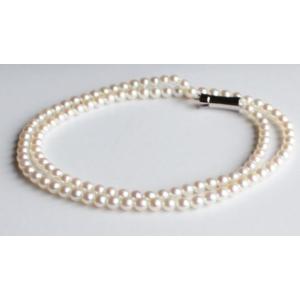 ベビーパール ネックレス ホワイトピンク 3.5-4mm 伊勢志摩産 アコヤ本真珠 |tamatyan