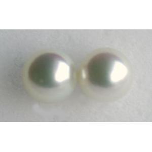パールピアス   K14ホワイトゴールド直結 ピンク6-6.5mm 伊勢志摩産 アコヤ真珠 |tamatyan