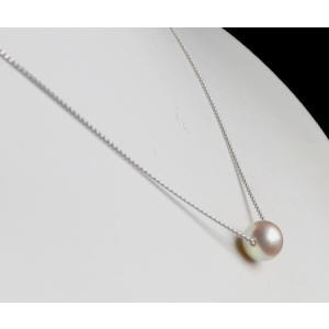 スルーパールネックレス アコヤ真珠 8-8.5mm 伊勢志摩産 あこや真珠|tamatyan