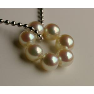 あこや真珠 パールペンダント 真珠の輪 オリジナル!伊勢志摩産 アコヤ本真珠|tamatyan