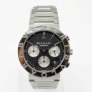 【BVLGARI】ブルガリブルガリ クロノグラフ BB38SSCH オートマチック メンズ腕時計