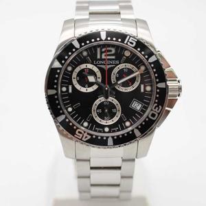 ロンジン ハイドロコンクエスト クロノグラフ腕時計 L3.6...