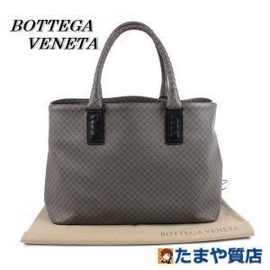 BOTTEGA VENETA ボッテガヴェネタ マルコポーロ イタリア製 PVC レザー イントレチャート トートバッグ 16008|tamaya78