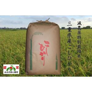 令和元年産 一志米(三重県産コシヒカリ) 玄米 30kg