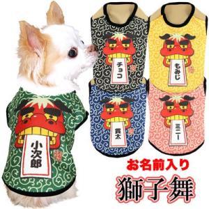めでたや!めでたや!獅子舞のお洋服!!おめでたい日や席にぴったりの1枚です♪