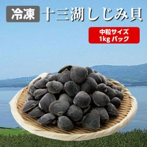 しじみ 十三湖 青森県産 大粒 冷凍 しじみ貝 1kg入り tamenobu-store