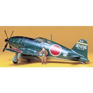 タミヤ(61018)1/48 日本海軍局地戦闘機 雷電21型 (J2M3)