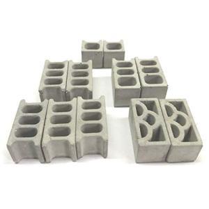 ミニチュアコンクリートブロック 詰合せセット|tamurashop
