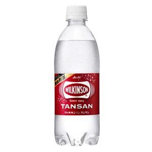 アサヒ飲料 ウィルキンソン タンサン 炭酸水 500ml×24本|tamurashop