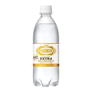 アサヒ飲料 ウィルキンソン タンサン エクストラ 炭酸水 490ml×24本 機能性表示食品|tamurashop
