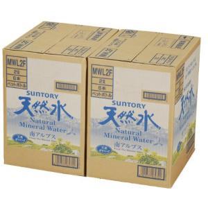 2CS サントリー 天然水(南アルプス) (2L×6本)×2箱|tamurashop
