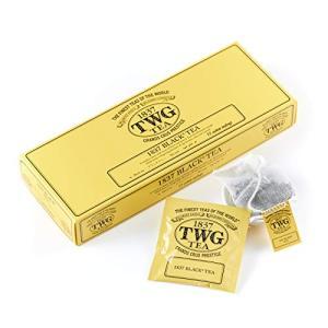TWG Tea コットンティーバッグ 正規輸入品 (1837 Black Tea, 2.5g×15個入り)|tamurashop