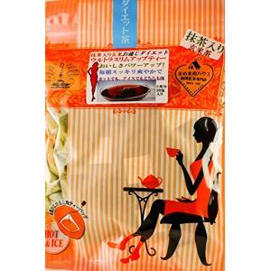 静岡産抹茶入り玄米茶ベースウルトラスリムアップティー3g×30包入り 自然のチカラ|tamurashop