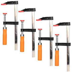PORAXY F型 クランプ 樹脂製クリッブ 50mm×200mm DIY 木工 強力固定 木材 工作 木工 溶接作業用 作業用 切削作業|tamurashop