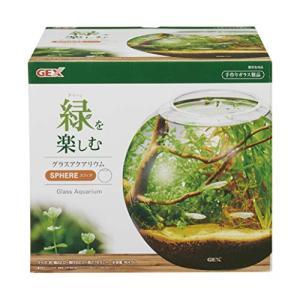 ジェックス 水槽 グラスアクアリウム スフィア 水草インテリア ガラス製|tamurashop