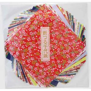 尚雅堂 折つる千代紙 15cm×15cm 友禅紙20枚 民芸紙20枚|tanabata-kikuchi