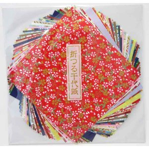 尚雅堂 折つる千代紙 10cm×10cm 友禅紙20枚 民芸紙20枚|tanabata-kikuchi