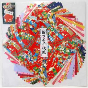 尚雅堂 折つる千代紙 19cm×19cm 友禅紙12枚 民芸紙12枚|tanabata-kikuchi