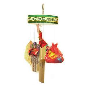 仙台七夕飾り 巾着/鶴/紙衣/投網/屑籠/短冊/ つるし七つ飾り|tanabata-kikuchi