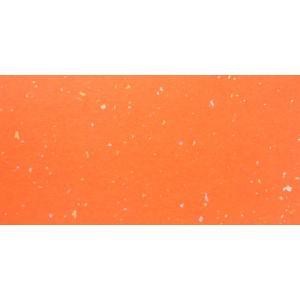 七夕用吹き流し おれんじ色 金銀砂子入 雲竜なし 8cm幅×1.5m 12枚入 【キクチオリジナル】|tanabata-kikuchi