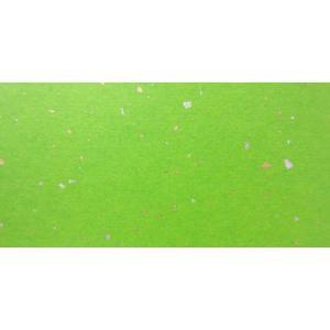 金銀砂子入和紙 くさ色 雲竜なし 全判 1枚|tanabata-kikuchi
