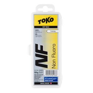 1/23~26 エントリーでP5倍 TOKO トコ ワックス NFイエロー 120g 固形 スキー ...