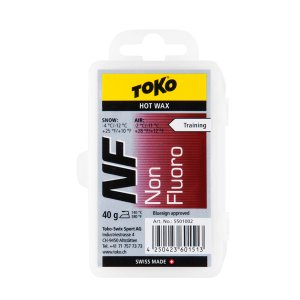 1/14~17 エントリーでP5倍 TOKO トコ ワックス NFレッド 40g 固形 スキー スノ...