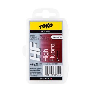 1/14~17 エントリーでP5倍 TOKO トコ ワックス トリブロックHFレッド 40g 固形 ...