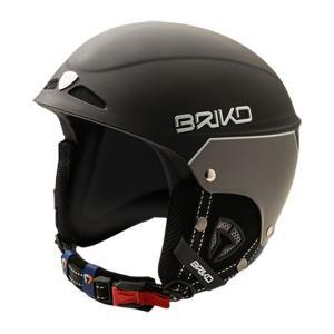 BRIKO〔ブリコ スキーヘルメット〕<2016>SH0004 SNOWY〔N023 MATT BLACK/MATT ANTHRACITE〕|tanabesp