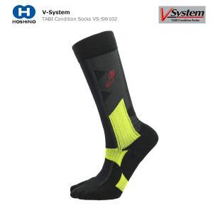 V-system〔ソックス〕 TABI Condition Socks VS-SW102〔BK/LGN〕 tanabesp