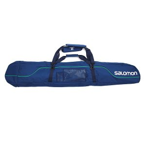 SALOMON〔サロモン 1台用スキーケース〕<2016>JP 155-170 3WAY ADJUTABLE SKI SLEEVE〔MIDNIGHT CHINE/REAL GREEN〕L37884100〔z〕