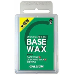 【割引セール中!】【倍々キャンペーンP5倍】GALLIUM〔ガリウムワックス〕BASE WAX 〔100g〕 SW2132 固形