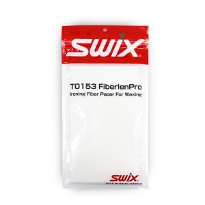 SWIX〔スウィックス〕 ファイバーレーンプロ ホットワックス T0153L 100枚入り スキー ...