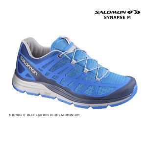SALOMON〔サロモン スポーツシューズ トレイルランニング ランニング〕 SYNAPSE M L35566600 〔MIDNIGHT BLUE/UNION BLUE/ALUMINIUM〕〔z〕〔SA〕