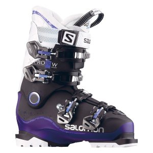 ★SALOMON〔サロモン レディース スキーブーツ〕<2017>X PRO 70 W 〔black/dark purple/white〕〔z〕