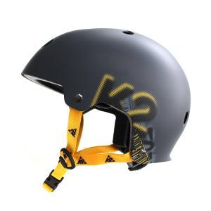 〔5000円以上で送料無料〕K2〔ケーツー〕インラインスケート ヘルメット VARSITY MEN'S HELMET〔charcoal〕〔SAH〕