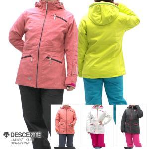 DESCENTE〔デサント レディーススキーウェア〕<2017>LADIES' SUIT DRA-6297WF【上下セット】 tanabesp